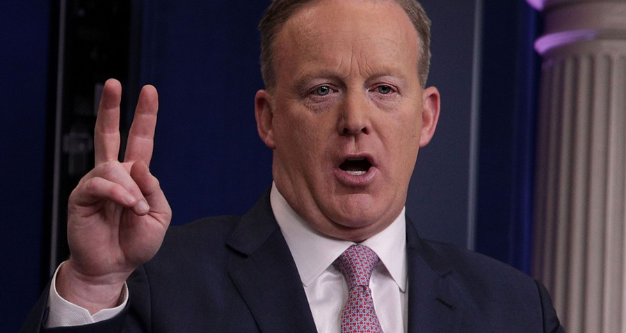 No Sean Spicer Didn't Tweet a Bitcoin Address